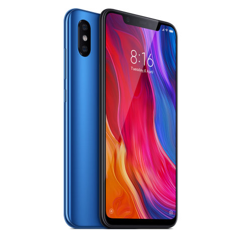 XIAOMI MI8 EU 6GB/128GB BLUE