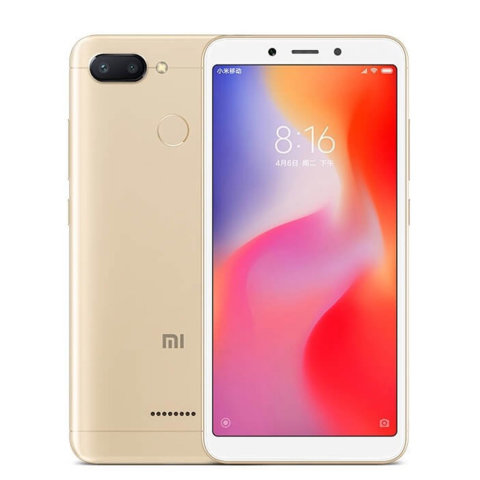 XIAOMI REDMI 6 EU 3GB/32GB GOLD