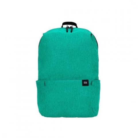 XIAOMI TRENDY SOLID COLOR LIGHTWEIGHT BACKPACK GREEN