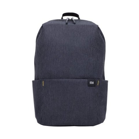 XIAOMI TRENDY SOLID COLOR LIGHTWEIGHT BACKPACK BLACK