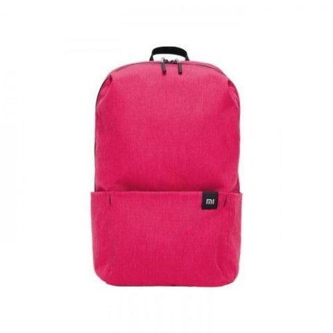 XIAOMI TRENDY SOLID COLOR LIGHTWEIGHT BACKPACK PALE VIOLET RED